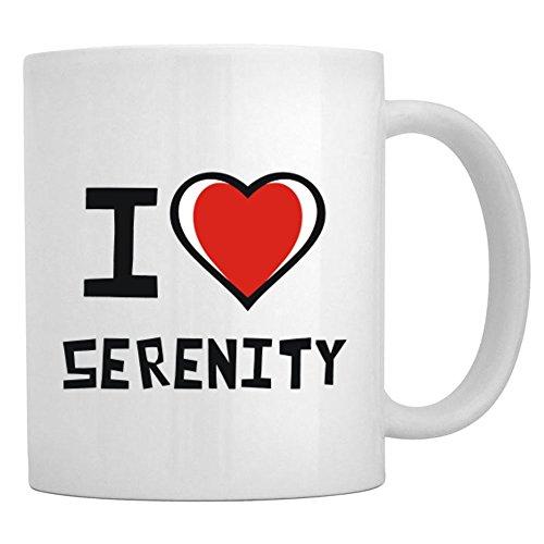 Teeburon I love Serenity Mug