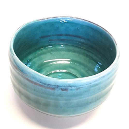 Japanese Chawan Matcha Bowl Ryukyu Blue