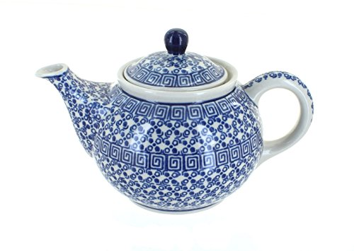 Polish Pottery Olympia Small Teapot