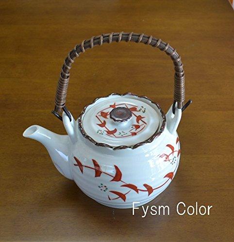 fukuda pottery Kyusu small teapot Nishikikarakusa 6go from Japan