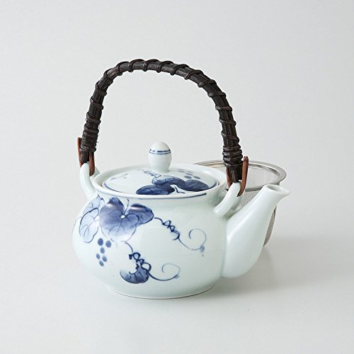 saikai pottery Kyusu small teapot Heiseibudogrape 4go 70472 from Japan