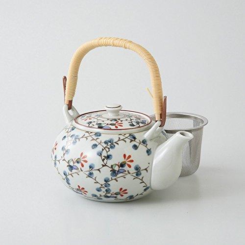 saikai pottery Kyusu small teapot Nishiki kusabana 4go 66389 from Japan