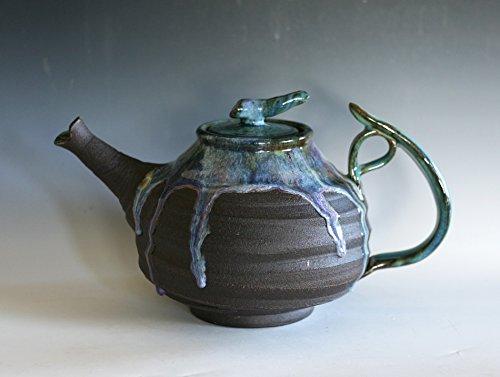 88 oz EXTRA LARGE TEAPOT Ceramic Teapot Handmade Stoneware Teapot Large Ceramic Teapot