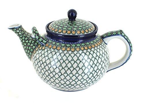 Polish Pottery Tranquility Large Teapot