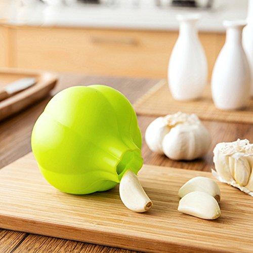 Kitchen Tools Gadgets - Silicone Garlic Peeler Garlic Peeling Tools Easy eful Garlic Skin Remover Kitchen Gadget Supplies - Silicone Garlic Peeler Tube Easem Peel Magic - 1PCs