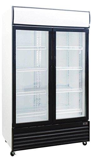 1000 Liter Display Beverage Cooler Merchandiser Refrigerator 353 Cu Ft