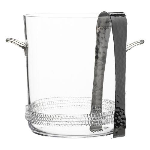 Juliska Dean Ice Bucket with Tongs