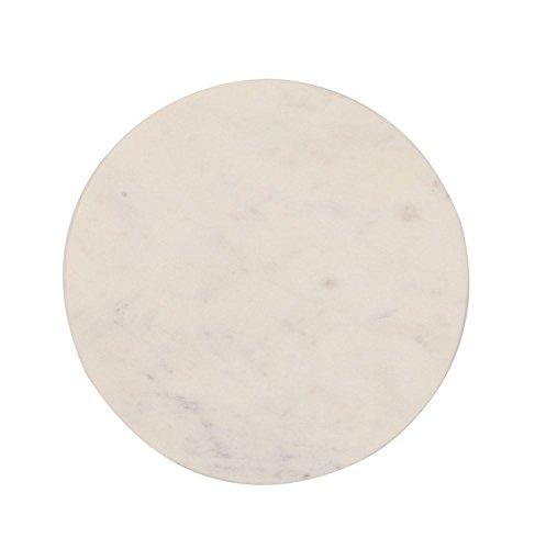 Creative Co-op DA6158 Marble Board Small White