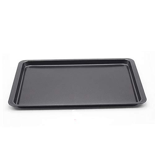 Amyhome Black Non-Stick Rectangular Bakeware Heavy Carbon Steel Bakeware Cake Pans Kitchen Bakeware Tools 11-inch