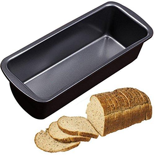 Non-Stick Long Bread Loaf Pan 235x95x6cm Carbon Steel Bakeware Mold Oven Tray Kitchen Fruit Baking Gadgets Cake Maker Mold Loaf Pan Bread Mouldblack