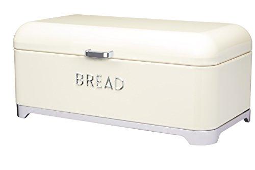 Kitchen Craft Lovello Bread Bin 42 x 22 cm 165 x 85 - Vanilla Cream