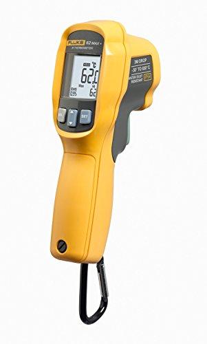 Fluke 62 MAX Plus IR Thermometer Non Contact -20 to 1202 Degree F Range