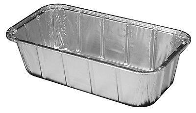 Handi-Foil 1 12 lb Aluminum Foil Loaf Pan - Disposable Bread Baking Tin pack of 50