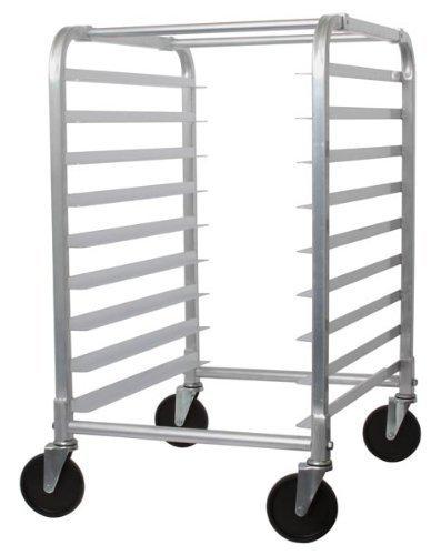Bun Pan Rack 9-Tier W 9 Full Size Bun Pans Aluminum Restaurant Supplies