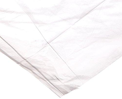 Elkay Plastics BPRC12F5280 High Density Bun Pan Rack Cover Flat Pack 52 x 80 Clear Pack of 50