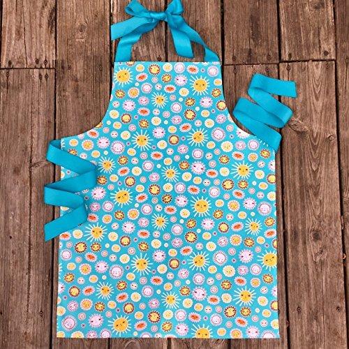 Sunshine Tween Girl Apron for Baking Art or Crafting