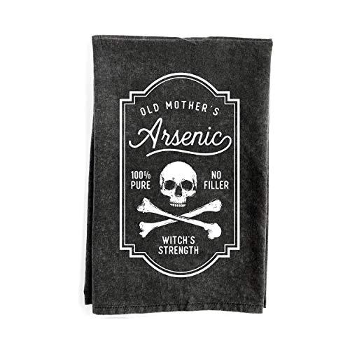 Arsenic Halloween Kitchen Towel