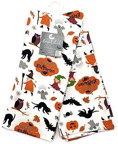 Bewitched Home Happy Halloween Kitchen Towel Set