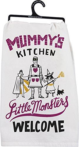 Mummys Kitchen Halloween Kitchen Towel 28 x 28