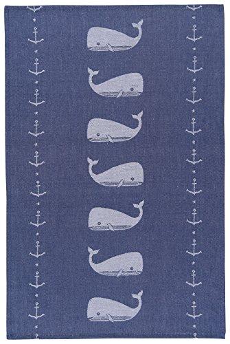 Now Designs Cotton Jacquard Kitchen Towel Ahoy Matey