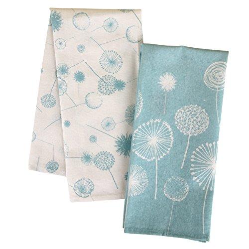 Karma Gifts Tea Towels Set of 2 Dandelion