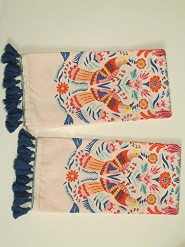 Paper Source Birds Tea Towels - Set of 2