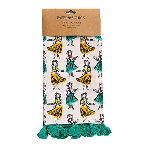 Paper Source Hula Tea Towels - Set of 2