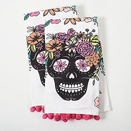 Paper Source - Skull Tea Towel - Set of 2