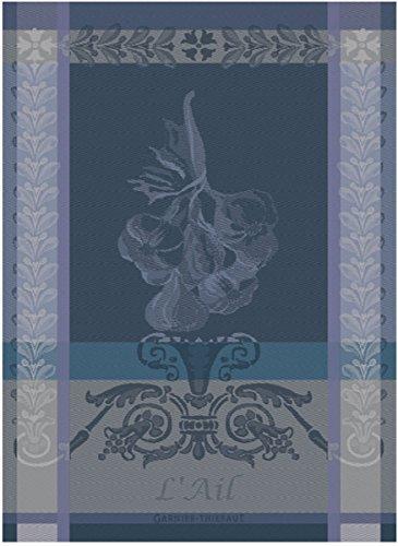 Garnier Thiebaut Ail Ardoise Tea Dish Towel Torchon 100 Percent Cotton