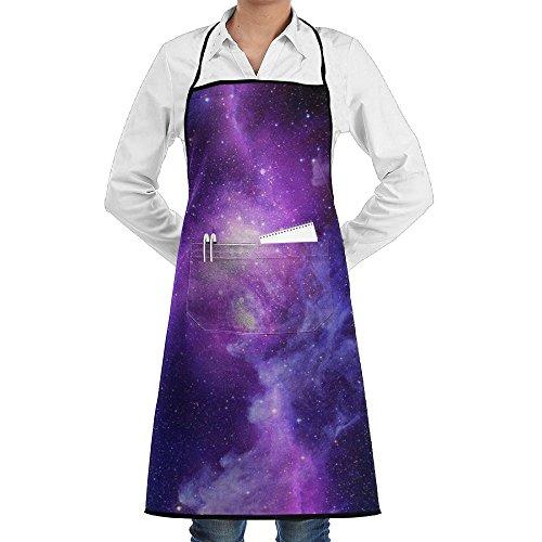Wyfcxc Galaxy Designer Chef Aprons Cookingrn Shop Aprons Sewing Pocket