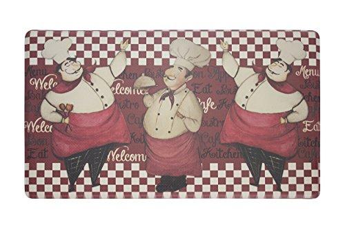 Chef Gear Chef Marcello Anti-Fatigue Premium Memory Foam Kitchen Chef Mat 20 x 32