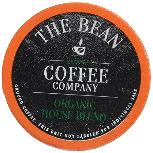The Bean Coffee Company Organic House Blend Medium Roast Keurig Single Serve K-Cups 30 Count
