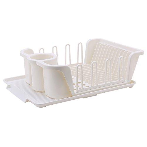 Cupboard kitchen drain Plastic tableware cutlery storage box D