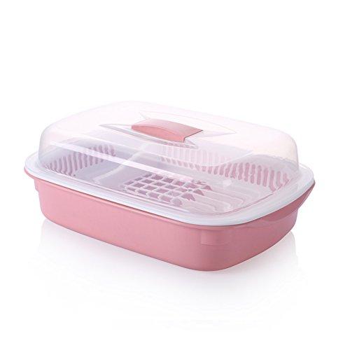 Plastic cupboard kitchen drain bowl Serve tea with chopsticks and cutlery storage box E