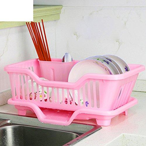 Plastic kitchen drain Table cutlery storage box C