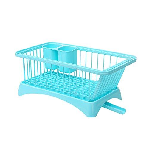 Plastic kitchen drain the cupboard table cutlery storage box A