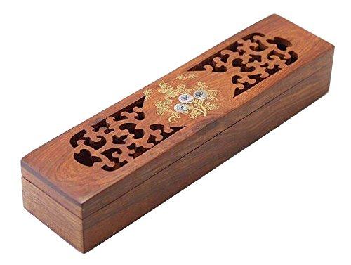 Wooden Chopsticks Box Flatware Storage Box Cutlery Organizer Case