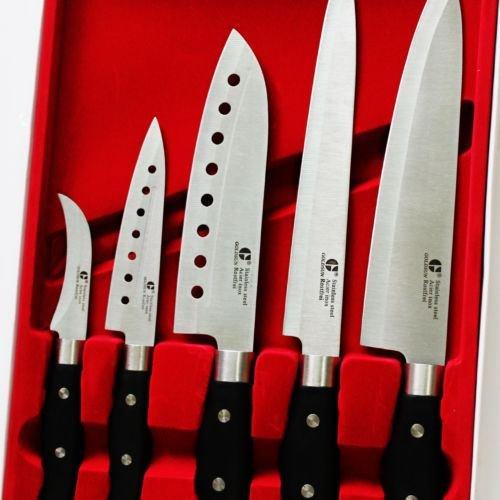 GOLDSUN Sashimi Set Kitchen Knife Stainless steel Cutlery Japanese Chef Knives-