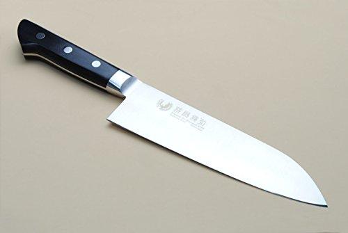 Yoshihiro 180mm Inox Santoku Japanese Chef Knife 7-Inch