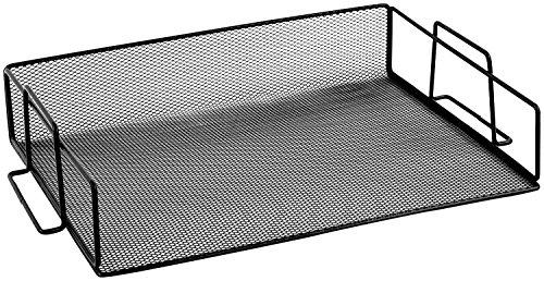 Ybmhome Black Steel Mesh Stackable Letter Paper Holder Shelf Tray Desktop Organizer Office Product 2251 1 Black