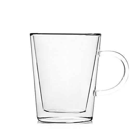 Teabox Lunar Glass Tea Mug  Capacity 10 fl oz