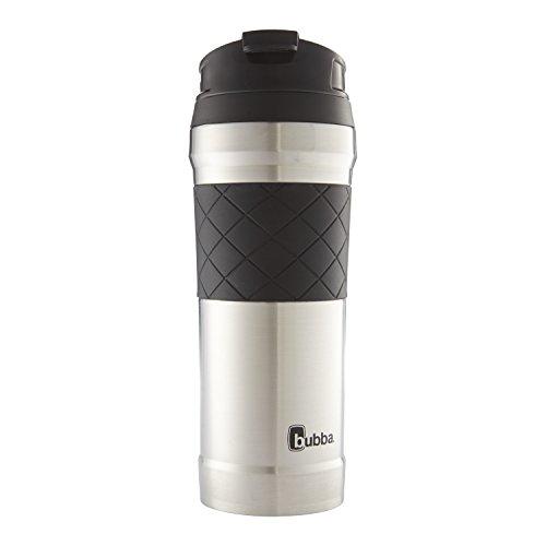 Hero Elite Vacuum Insulated Stainless Steel Travel Mug with TasteGuard 16 oz White
