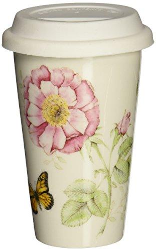 Lenox Butterfly Meadow Thermal Travel Mug -10 oz