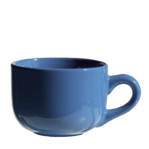 4 Pack - Ocean Blue Latte Cups 16 Ounce