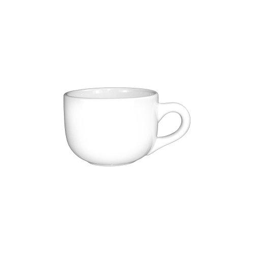 International Tableware 822-02 Euro White 16 Oz Latte Cup - 24  CS