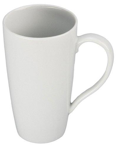BIA Cordon Bleu White Porcelain 17 ounce Latte Mug white