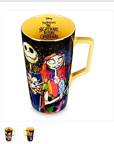 DISNEY - Jack and Sally Nightmare Before Christmas Latte Mug