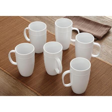 Elegant Design 18 oz Latte Mug Set of 6