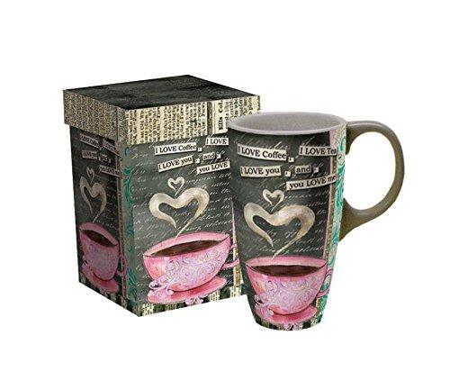 Lang I Love Coffee Latte Mug by Lisa Kaus 5036267