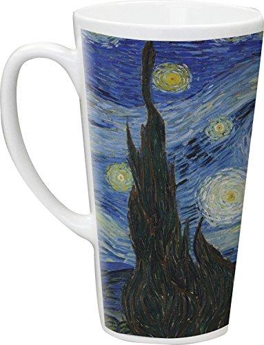 The Starry Night Van Gogh 1889 Latte Mug
